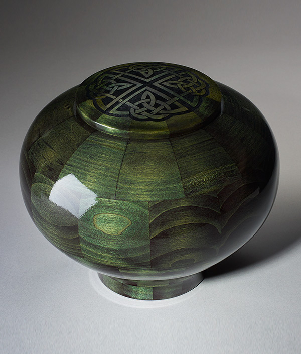 Artisan Crafted Hand Turned Wood Cremation Urns Urns Online