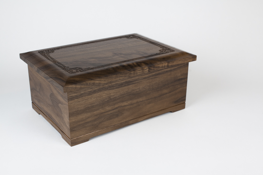 Walnut Cremation Urn