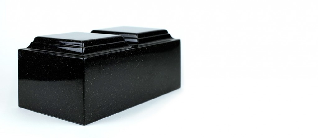 Laser engraved companion urn