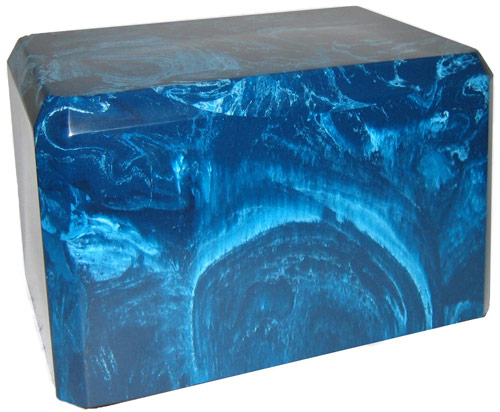 Blue Marble Urn for Burial