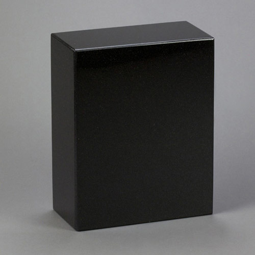 Black Granite Cremation Urn