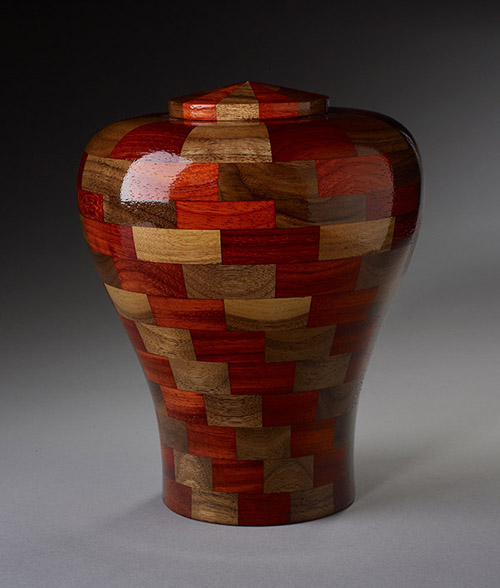 Woodturned Cremation Urns