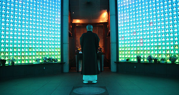 Futuristic Burial Vaults in Japan