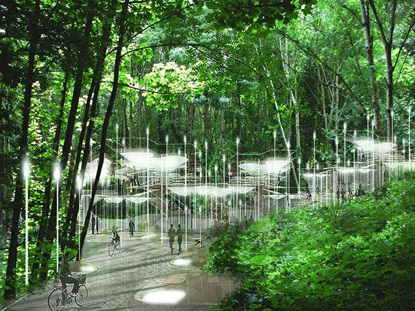 'Sylvan Constellation' cemetery proposal