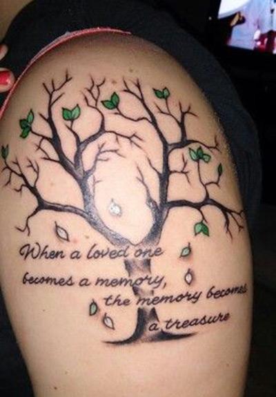 Creative Memorial Tattoo Ideas