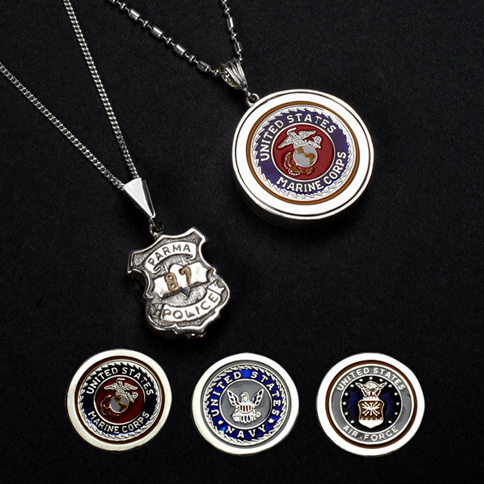 Sterling Silver Cremation Necklaces