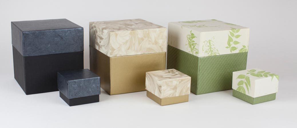Eco-friendly cremation urns