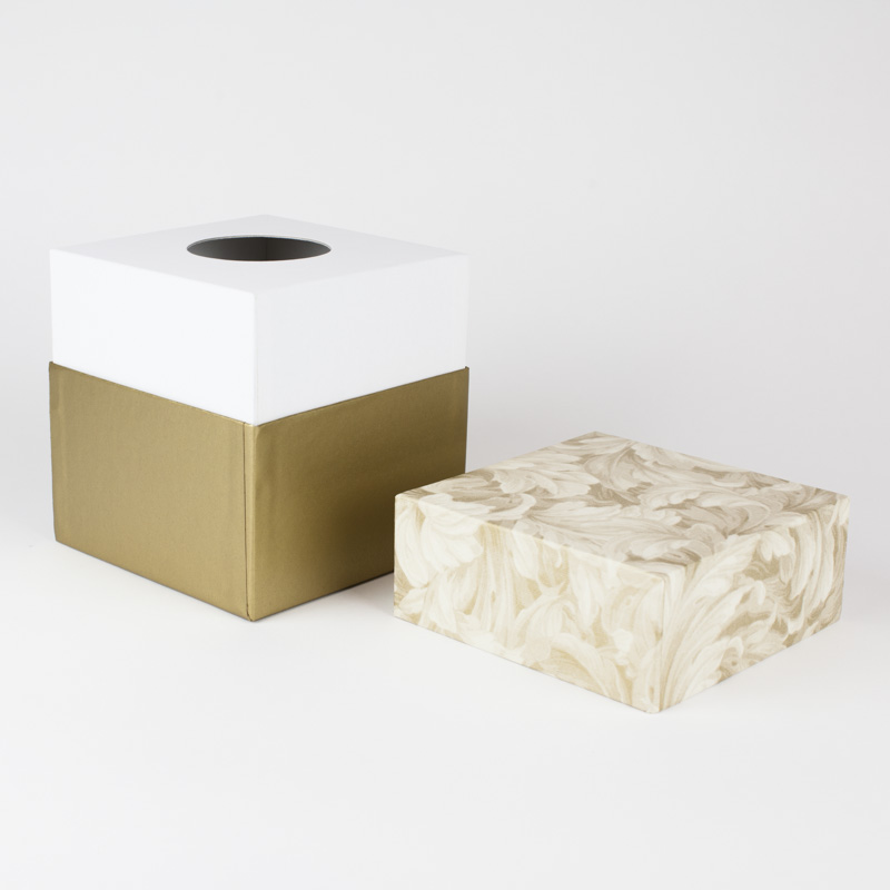 Biodegradable Urns - Gold Floral