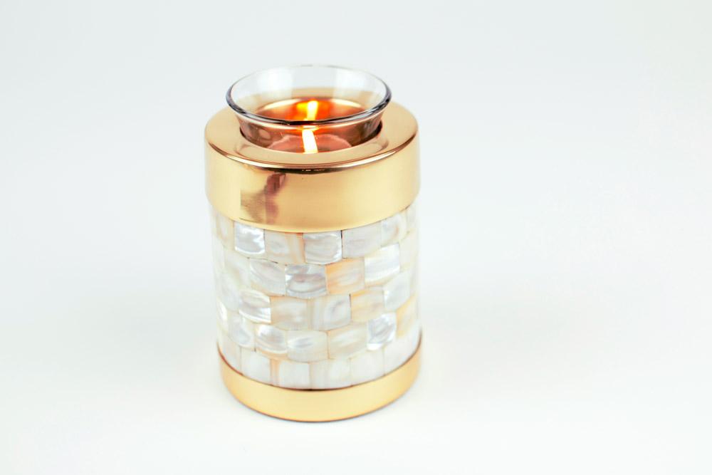 Brass Tealight Keepsake Urn