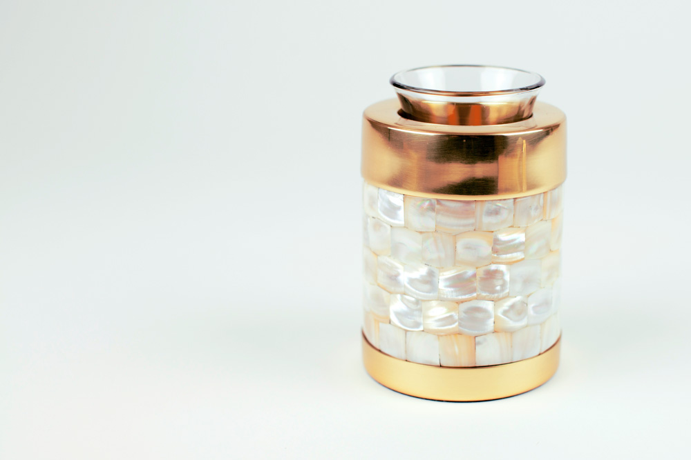 Keepsake Cremation Urn with Tealight