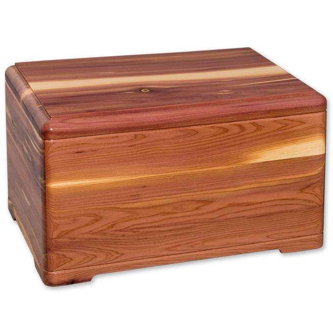 Premium Cedar Wood Cremation Urn » Urns Online