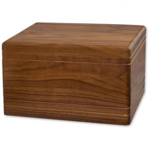 Walnut Budget Cremation Urn