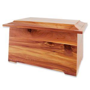 Sonata Cedar Wood Funeral Urn