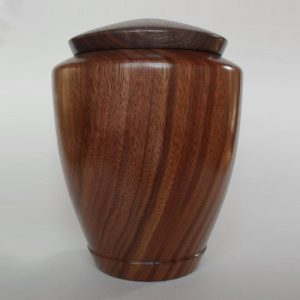 Tranquility Walnut Wood Urn
