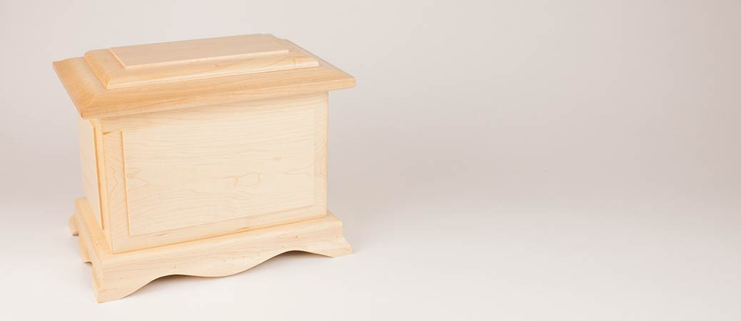 Maple Urns Made in the USA