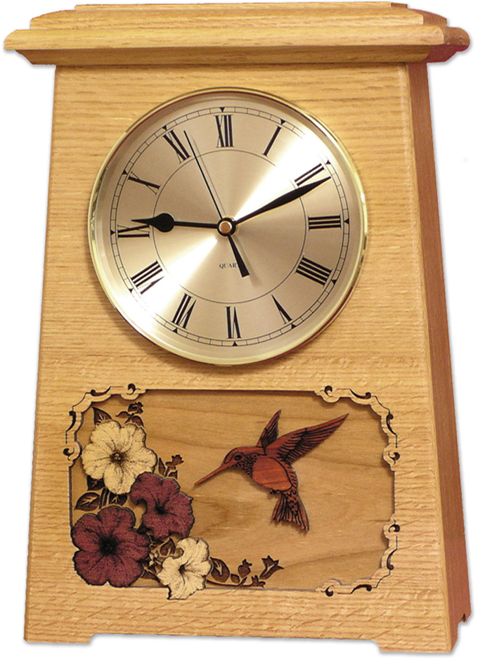 Wooden Clock Urn shipped to Australia
