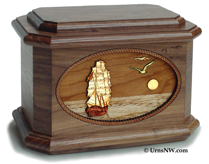 Classic Wood Cremation Urns