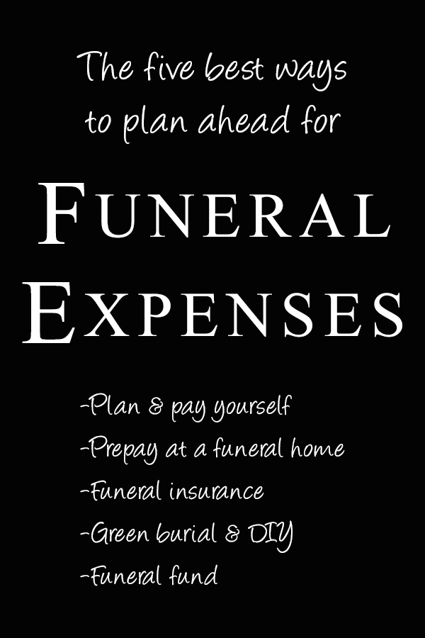 Five ways to plan for funeral expenses