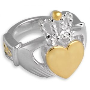Memorial Jewelry with Celtic Claddagh