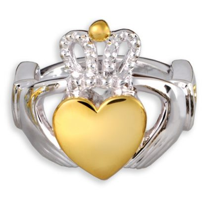 Celtic Claddagh Cremation Ring