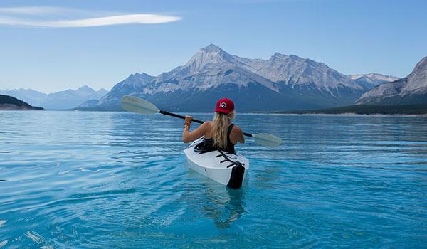 Take up a hobby like kayaking