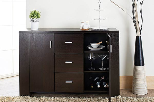 Hutch for a funeral home cafe/espresso station