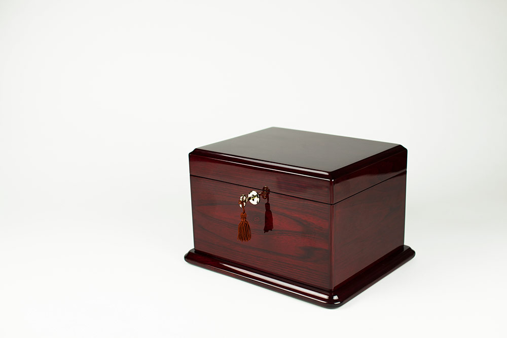 Memory Box and Cremation Urn Combo