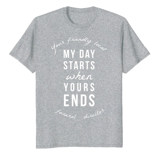 Funeral Director Shirts