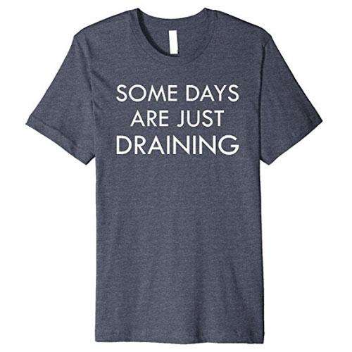 Macabre mortician humor tshirts