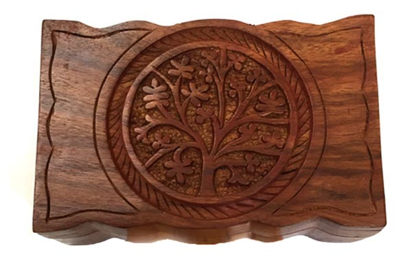 Tree of Life Fish Burial Box