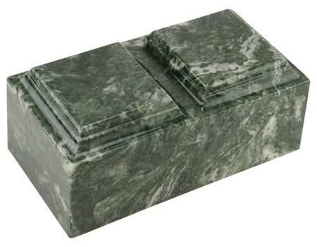 Evergreen Marble Urn