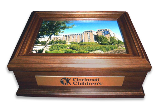 Personalized Keepsake Box for Funeral Director