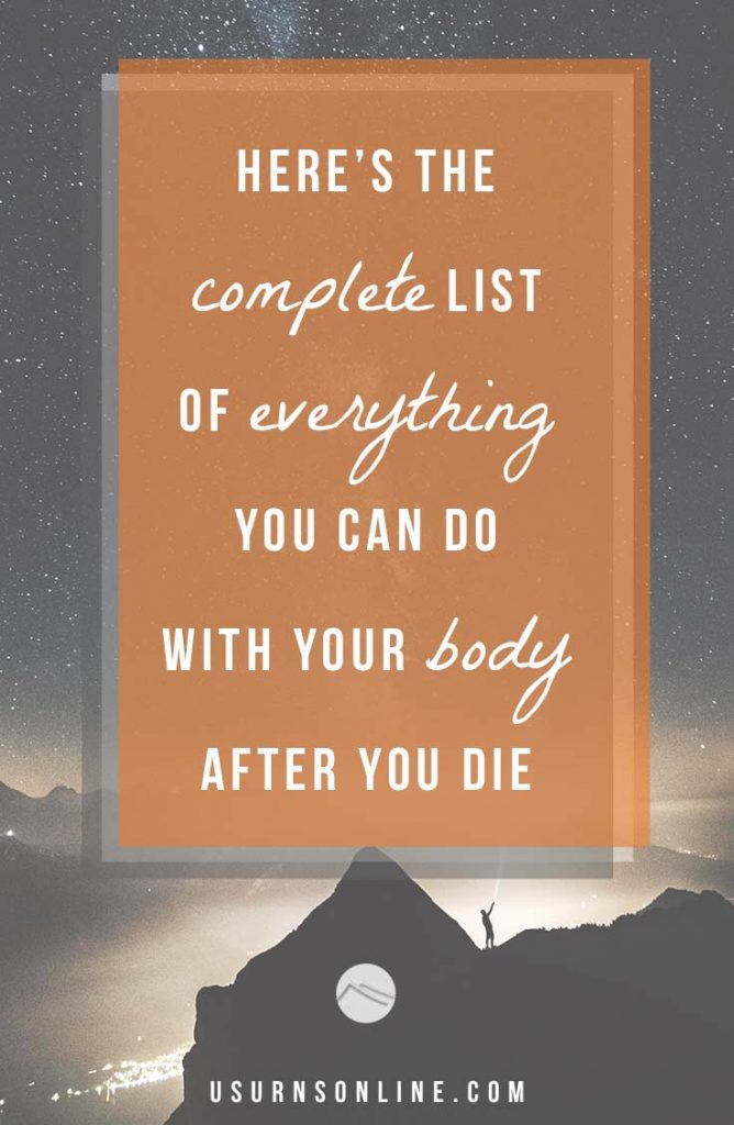 The complete list of everything your body can do after death