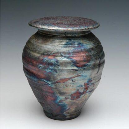 Raku Ceramic Urn - Handmade Funeral Urns
