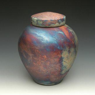 Celestial Raku Cremation Urn