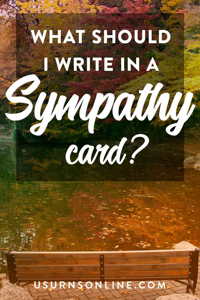 Sympathy Card Writing Guide