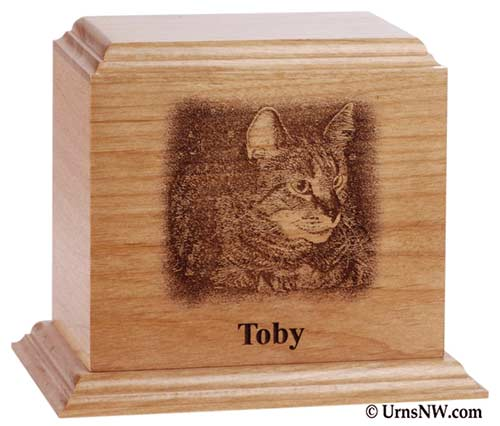 Personalized Photo Pet Cremation Urn