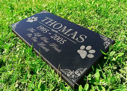 Customized Pet Memorial Marker for Home Burial