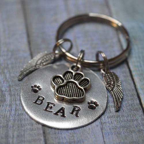 Custom Engraved Pet Memorial Tag