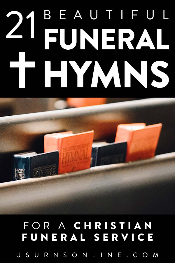 Christ-centered funeral hymns