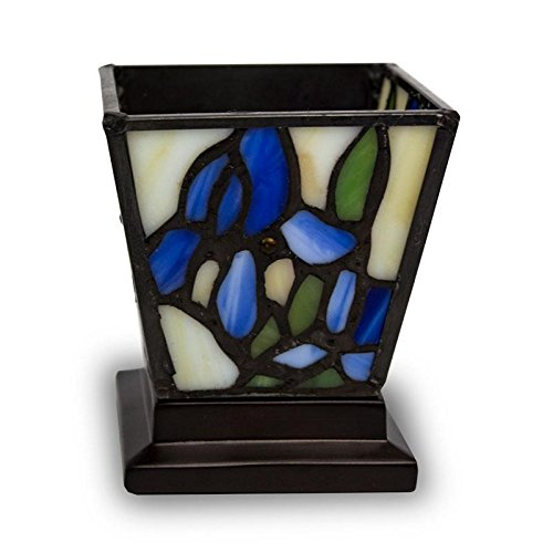 Stained Glass Keepsake Candle Holder Urn