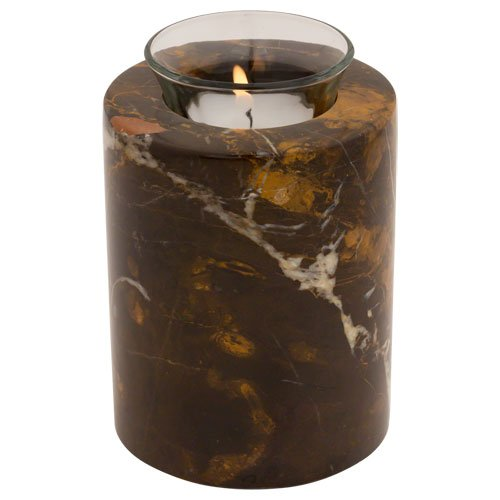 Keepsake Cremation Urn with Tealight Candle