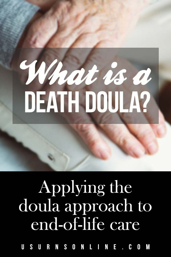 Applying the doula approach to end-of-life care
