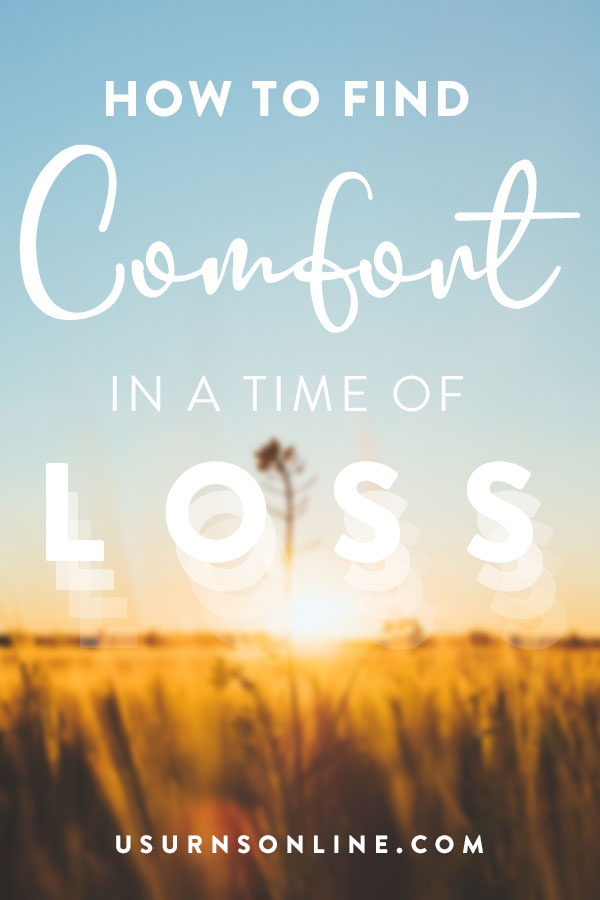 Finding comfort in the midst of grief