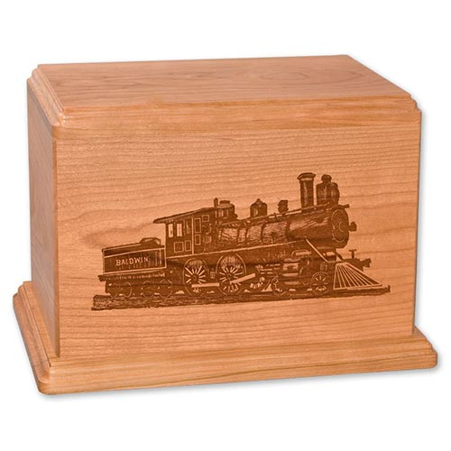 Solid wood funeral urns made in the USA
