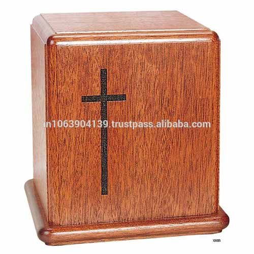 FAKE wood cremation urns