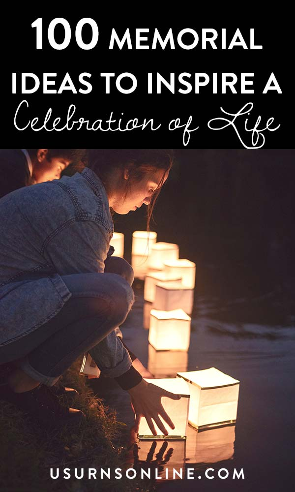 Creative memorial service ideas for a celebration of life