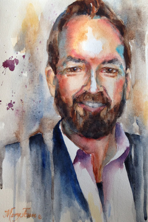 How to find the right artist to paint a loved one's memorial portrait