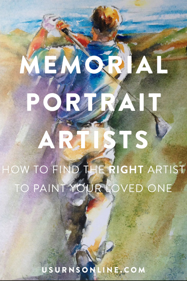 How to find the right artist to paint a memorial portrait