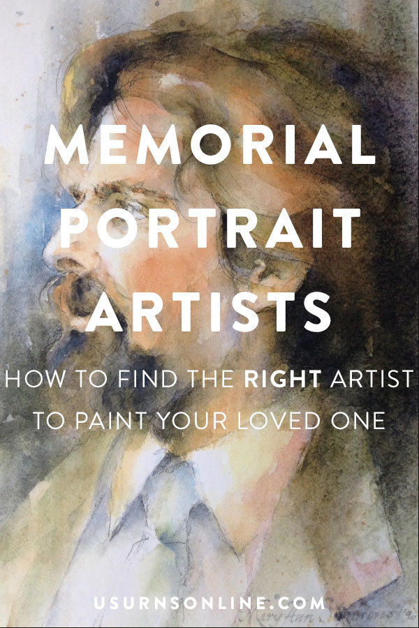 How to find the right artist to commission a memorial painting